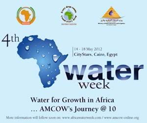 4th Africa Water Week The African Water Week represents a political commitment at the highest level where governments, regional institutions, international partners, the private sector, the scientific community, civil society, and the media from all over the world, and in particular Africa, meet to discuss and collectively seek solutions to Africa's water and sanitation challenges.  It is held annually in keeping with the decision of the African Ministers Council on Water to institutionalize the Africa Water Week (AWW) in order to build momentum on achieving the Millennium Development Goals (MDGs) water and sanitation targets by 2015, and the 2025 Africa Water Vision. This is in line with AMCOW's belief that adequate and equitable access to water and sanitation makes a critical contribution to Africa's progress towards sustainable development. @aww