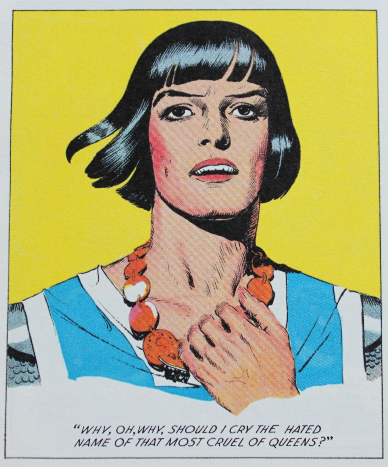 "theprincevaliant:  Prince Valiant  ""Why, Oh, Why, should I cry the hated name of that most cruel of Queens?"""