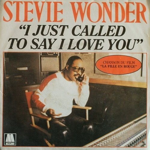 Stevie Wonder - Day#242 I Just Called To Say I Love You