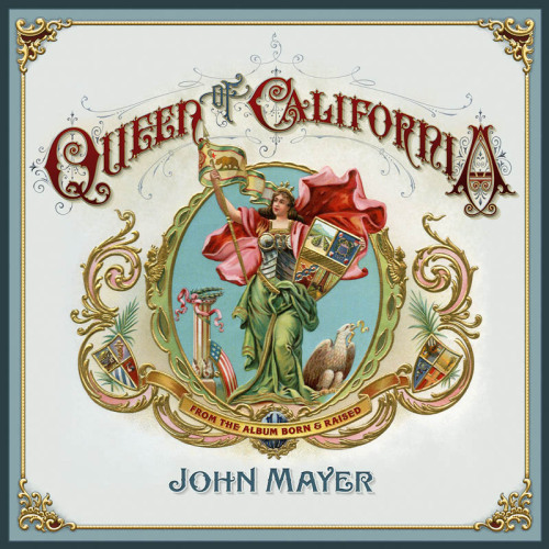 jhnmyr:  Cover art for the 'Queen of California' single