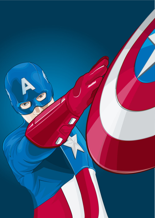 Ive just uploaded my latest ilo, Captain America, to my site. Let me know what you think :)