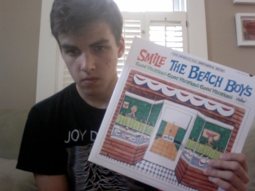 Listening To: The Beach Boys - The Smile Sessions (2011) 2/3 final exams finished. It's sweltering hot. Cooling off with this record. The vinyl box set of The Smile Sessions was one of the best gifts I received last year. Before I got the box set last Christmas, I reviewed the compilation HERE, if you're interested in reading my thoughts about it.