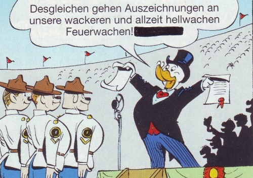 "Some Donald Duck comics had to be recalled after an published spotted a minor error: Donald shouting ""Holocaust!"" instead of ""Congratulations!"""