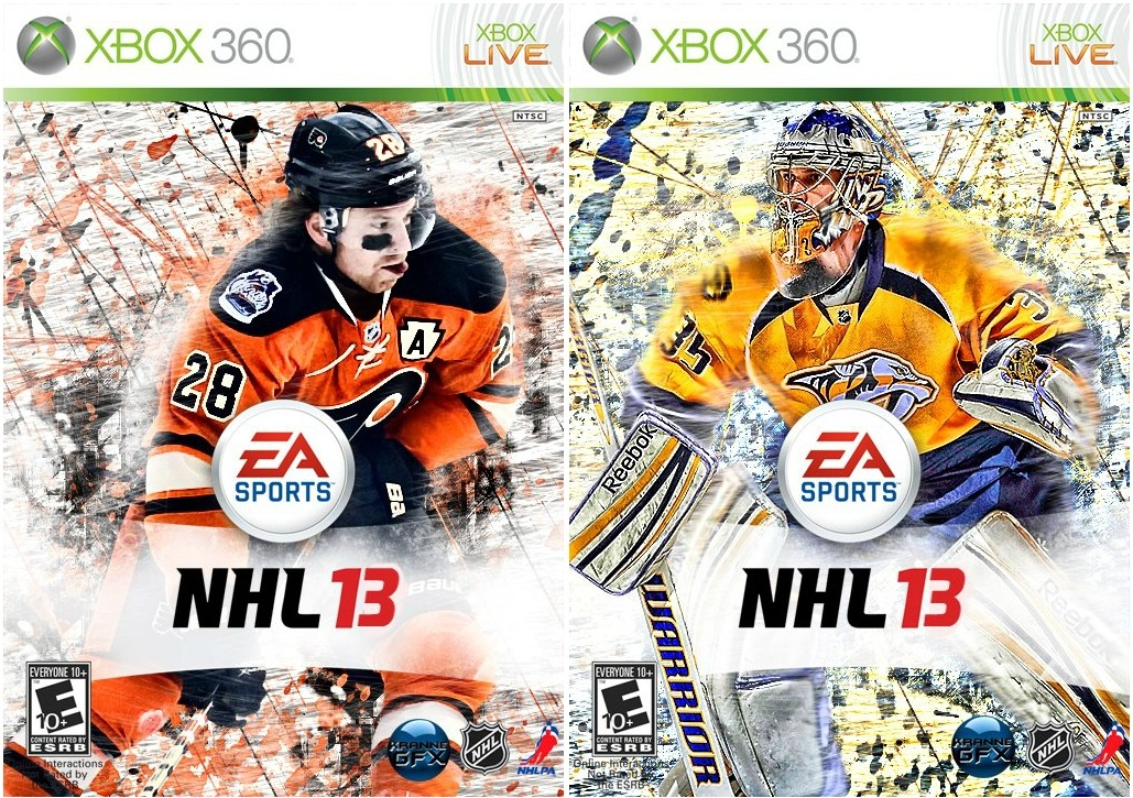Who do YOU want to be on the cover ofEA Sports NHL '13?