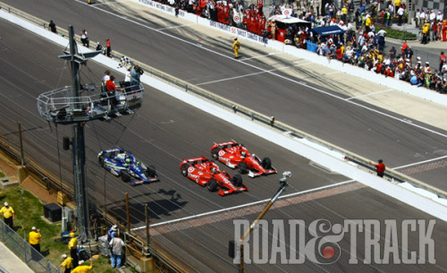 Another spectacular finish at the 2012 Indy 500. (Source: Road & Track)