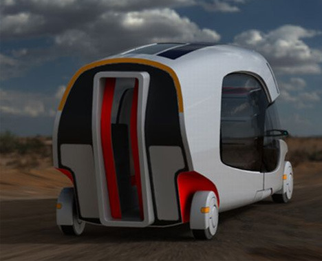 Campervans are great for the wide-open road, but what happens when you reach your destination and want to travel in something a bit less clunky? This variant concept RV comes with a detachable car to let you cruise city streets once you exit the high-speed freeway.