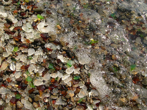 Glass Beach in MacKerricher State Park, near Fort Bragg, CA