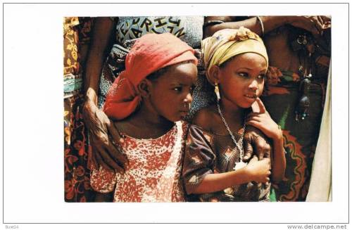 tinymiyo:  Vintage picture of north eastern girls in Maiduguri, Nigeria