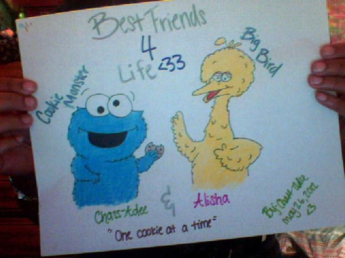 Drew this for my best friend ^.^