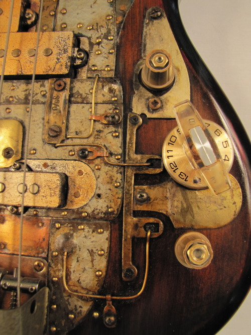 "This bass guitar was found in the wreckage of a Greyhound bus that ran off the road in 1951. There were only 6 people on the bus … the driver, 2 very deaf women from Huntsville, Alabama, a senator from Maine with his mistress, and a 12 year old off to visit his Grandmother in Tulsa. None checked in a guitar as luggage. There was a hand written note inside the case, on a thin sheet of rice paper. It said, ""IT'S NOT MINE""… . Weird."