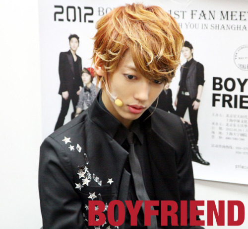 fyeahjoyoungmin:   120519 Youngmin at 1st Date in Shanghai. cr: Fancafe via: @YOUNGMIN_ISLAND.