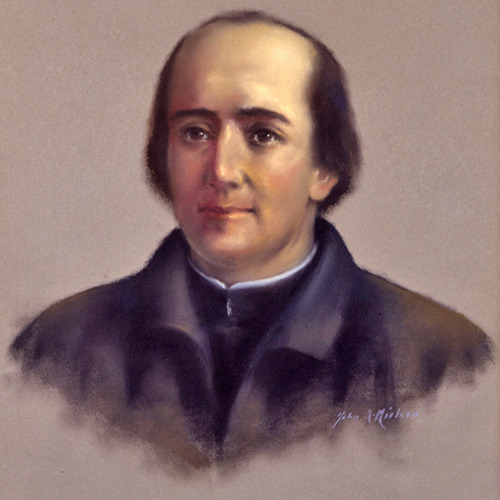 Happy 375th birthday, @FatherMarquette! Image source: museum.marquette.edu John A. Nielson, American, 1882-1954Pere Jacques Marquette, S.J. Pastel on colored paper 27 3/4 x 21 1/2 in (70.5 x 54.6 cm) Gift of Marquette University Alumni, 1937 Collection of the Haggerty Museum of Art, Marquette University