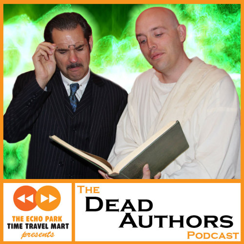 "The Dead Authors Podcast, Chapter 8: Aesop Chapter 8: Do you have friends who insist upon doing ""voices"" for their idiotic dogs?  Well, you can blame the original animal anthropomorphizer, Aesop (SuperEgo's Mark McConville). Join H.G. Wells (Paul F. Tompkins) as he delves into the mind behind so many lazy grasshoppers and eating-disorderd foxes. Have you ever wondered just what the true pronunciation of ""Aesop"" is? After listening to this, you will continue to do so! Subscribe and download now!"