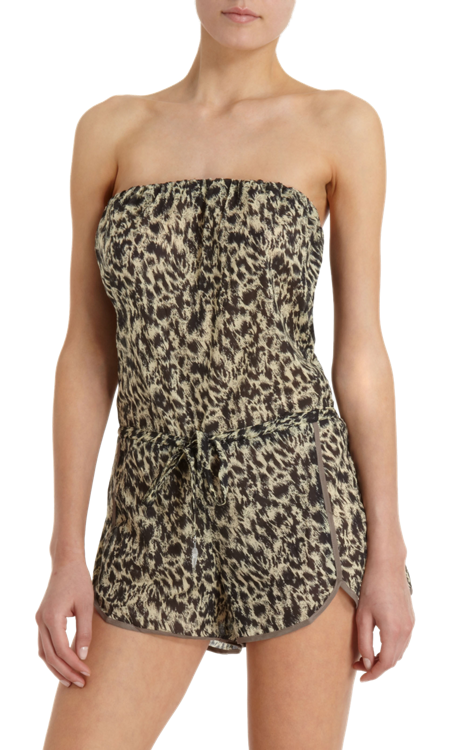 Lovely leopard playsuit by ZIMMERMANN