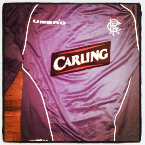 Rangers, Umbro, 2005/6 On the day Rangers win their court battle over SFA's transfer ban a cracking offering from @lloydbishop