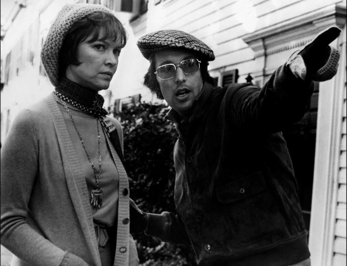 joaniedearest:  Ellen Burstyn and director William Friedkin behind the scenes of The Exorcist (1973)
