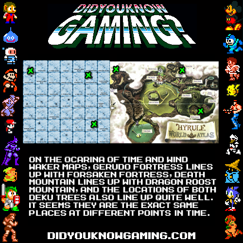 didyouknowgaming:  The Legend of Zelda.