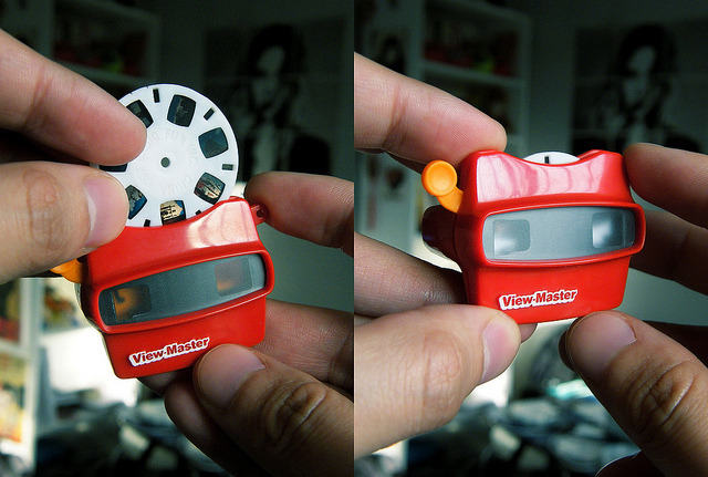 tokyoagent:  mini View-Master on Flickr.