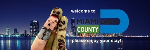 kinksgem:  Miami-Dade County is now Zombieland. This is perfect.   only in miami