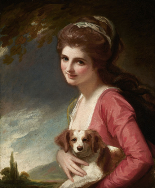 Lady Hamilton as Nature, George Romney
