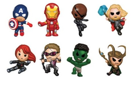 ilikeitwhentheresblood:  could these be any cuter?!  Totally just got Hawkeye and the Black Widow :D