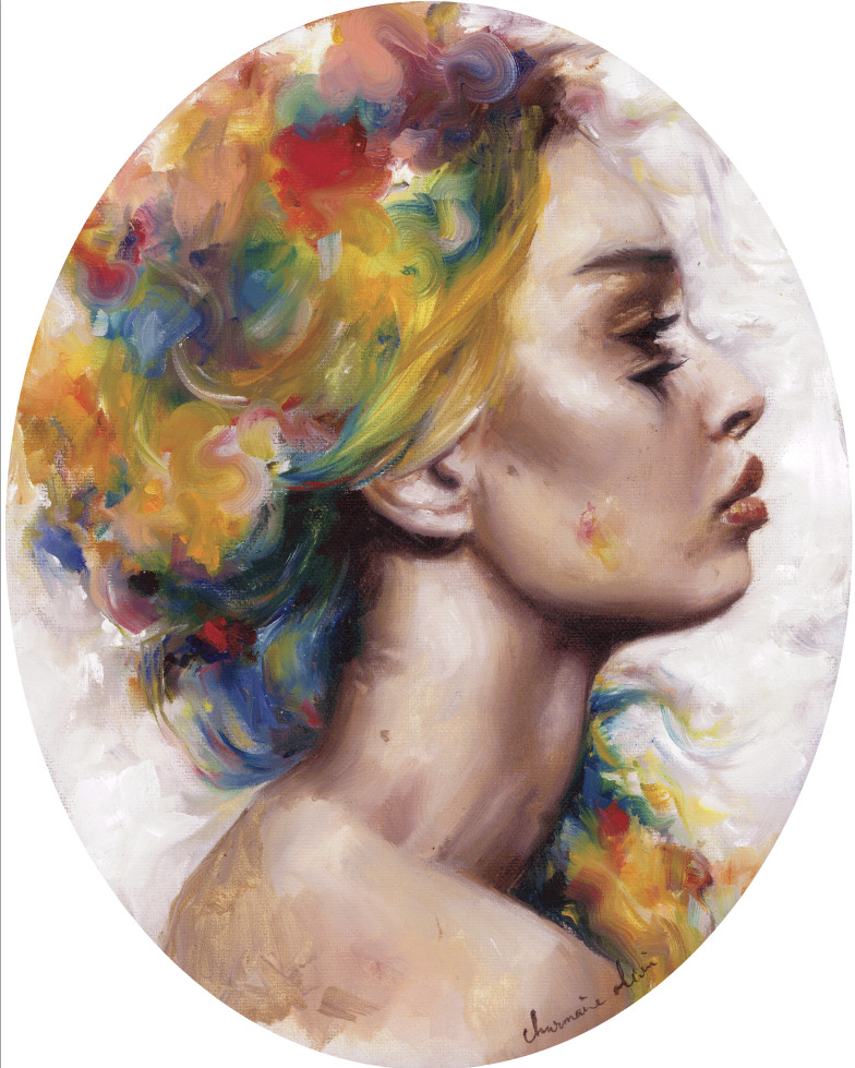 "Artist Charmaine Olivia just dropped her ""Rainbow Mermaid"" matted print in an edition of 50 in her shop… get it while it's fresh!http://www.charmaineoliviashop.com/collections/frontpage/products/rose-mermaid-limited-edition-prints"