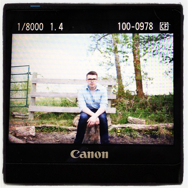 Preview of the shoot with @ryanduffin #canon #photoshoot #me #nature (Taken with instagram)