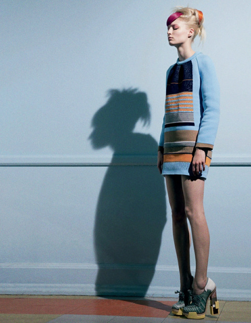 AnOther Magazine Autumn/Winter 2010 | Ph: Pierre Debusschere  This collection meant so much to me.