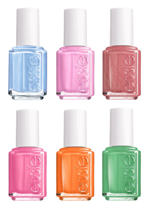 theplatformyt:  Umm scuze?! Can we discuss Essie's new summer collection?!  We can't wait for our first mani/pedi of the summer! Follow thePlatformYT  Totally bought two already and cant wait to pick up the rest!!!