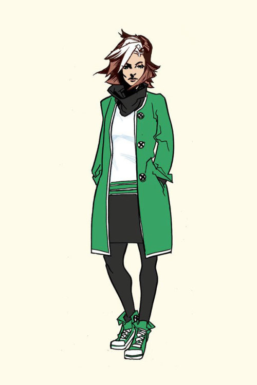 raidenski:  X-Men Hipster Rogue // by Andy McDonald
