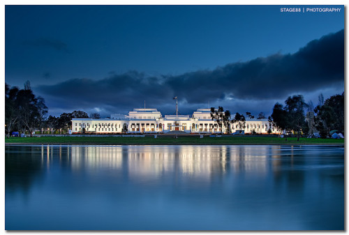 handa:  Old Parliament House in Canberra (via Sam Ilić)