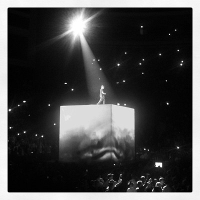 #kanyewest #jayz #watchthethrone #show #live #globen #stockholm #2012 #hiphop #classic #thatshitcray #epic (Taken with instagram)