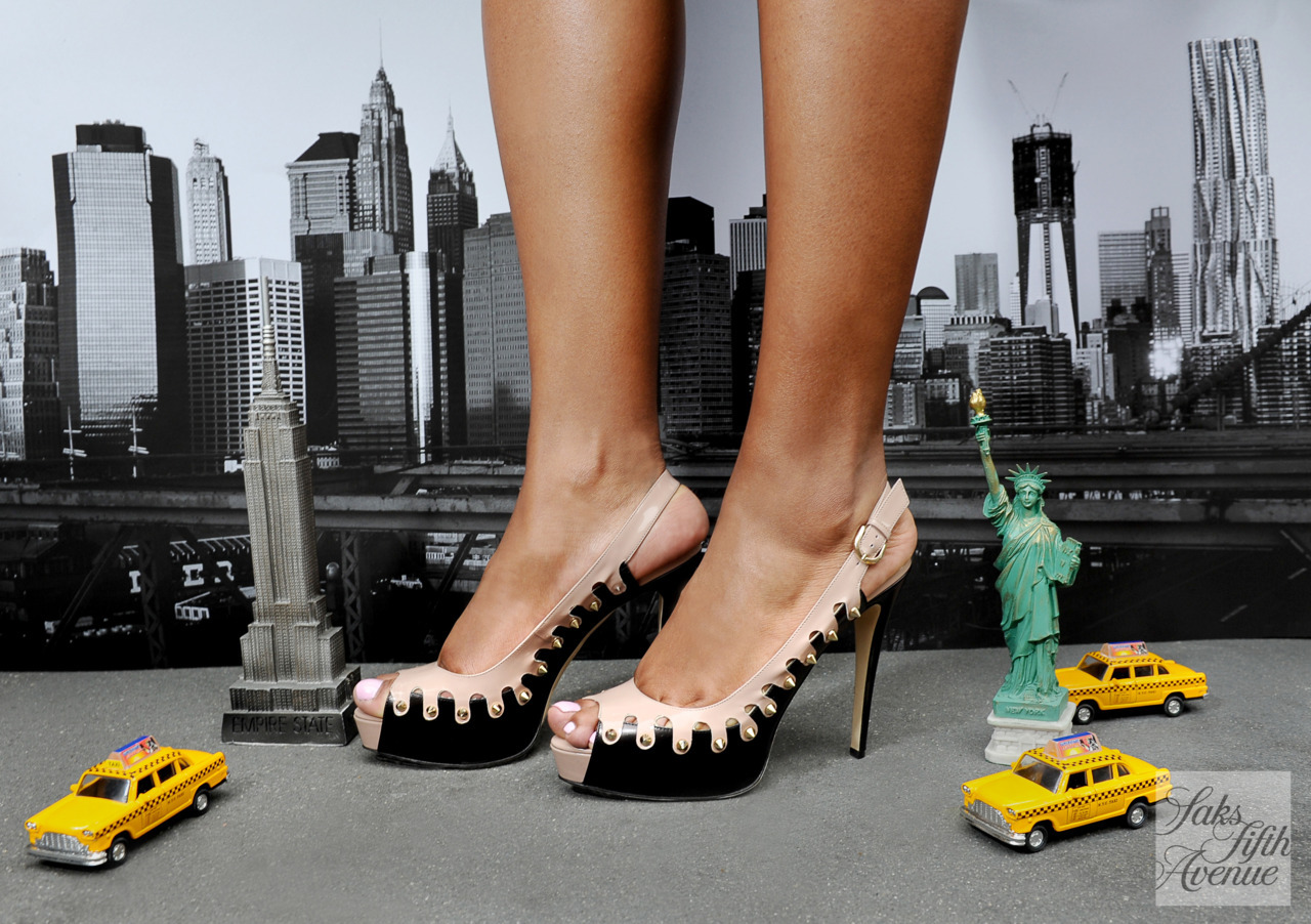 Oh, to be a native New Yorker! (Slingbacks by Brian Atwood)Photo by KSW