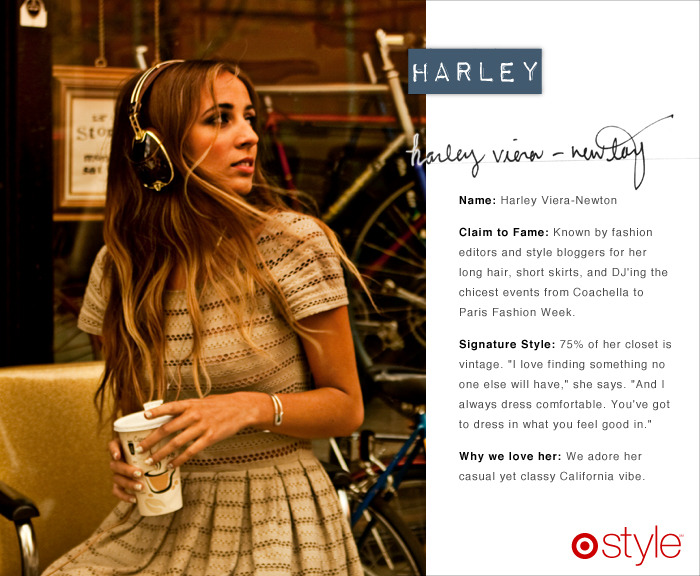 Meet our second guest editor for June Harley Viera-Newton is a New York City DJ, model, and Egyptology/Social Science graduate. She worked with us at the Jason Wu launch - where she DJ'ed and modeled a dress styled for her by Mr. Wu himself.