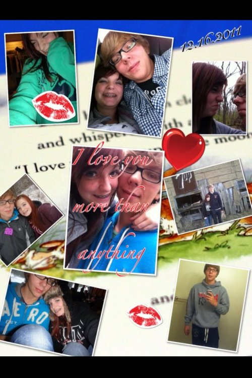 april 12, 2012. another present that sebastian made. <3
