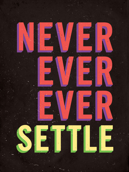 edatrix:  never settle.