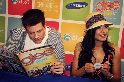 15/25 photos of Naya Rivera&Cory Monteith