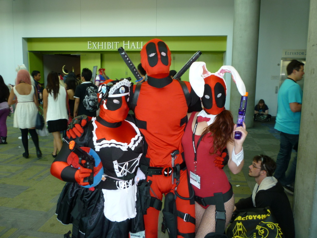deadpon-and-weible.tumblr.com, some other guy and me as a deadpools! =)