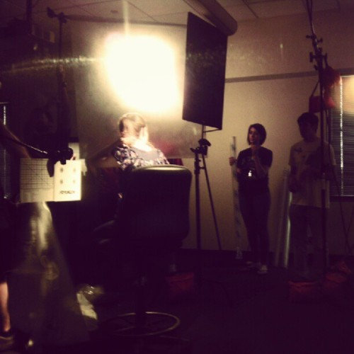 #lighting #film #cinematography class (Taken with instagram)