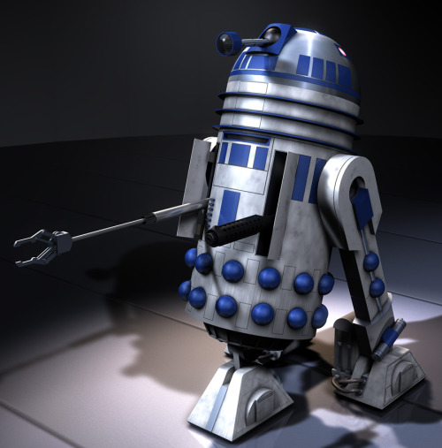 R2D2 Dalek. The Empire is in trouble.