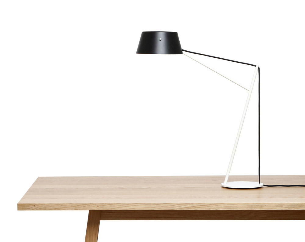 'Spar Junior Lamp', a junior desktop version designed by Jamie McLellan | Resident Credits: Images taken from the author's website