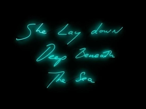 (via Tracey Emin: She Lay Down Deep Beneath the Sea at Turner Contemporary, Margate | AnOther | Reader)