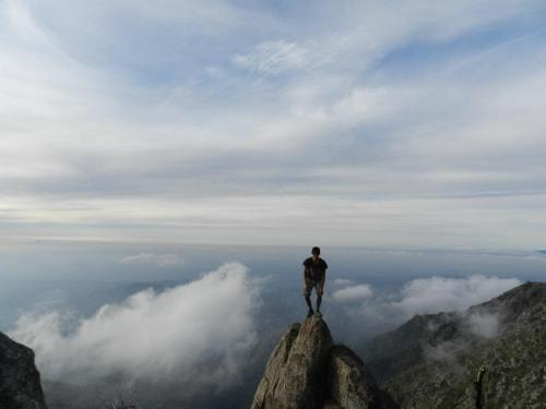 Me… on top of the world.