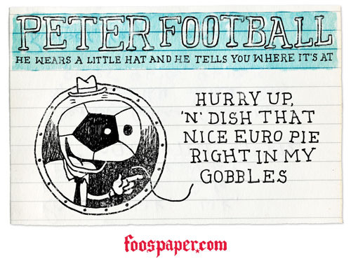 Peter Football on waiting for the Euros