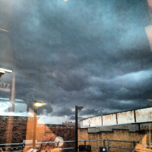 Somebody up there is mad #clouds #TME  (Taken with instagram)