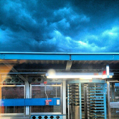 #clouds #TME wow even in a storm Gods work is beautiful (Taken with instagram)