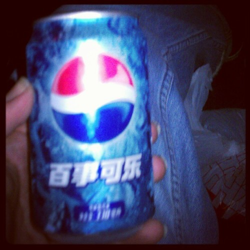 Japanese pepsi is pretty good ;) #pepsi  (Taken with instagram)
