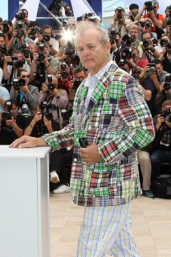 Bill Murray, Cannes 2012 (via Getty Images)