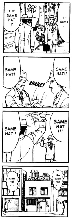 The same hat.