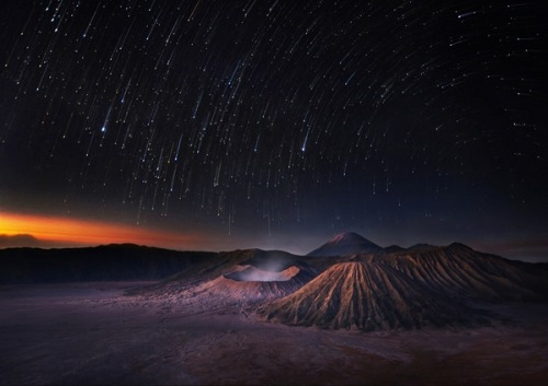 MT. Bromo / Indonesia.  One of the most beautiful places in our lovely planet my personal opinion.